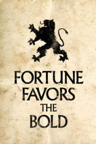 fortune favors the bold tattoo fortune favors the bold motivational proverb poster