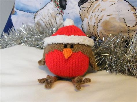 knitting pattern christmas robin christmas robin pattern by jacqui turner