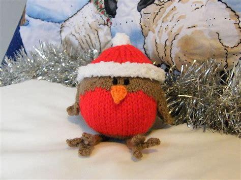 knitting pattern robin christmas robin pattern by jacqui turner