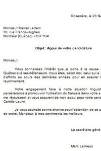 Modeles De Lettre De Motivation En Francais Lettre Exemple Francais Lettre De Motivation 2017