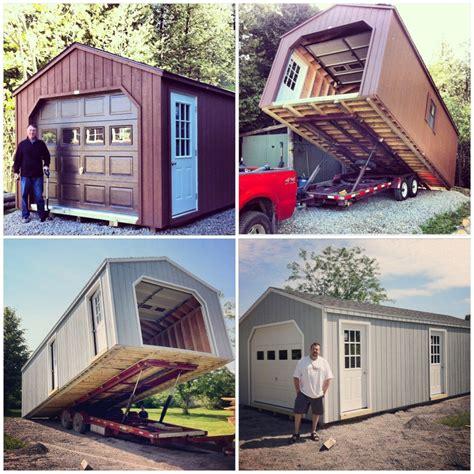 14 Ft Garage Door 14 X 32 Portable Garage 448sq Ft Country Sheds