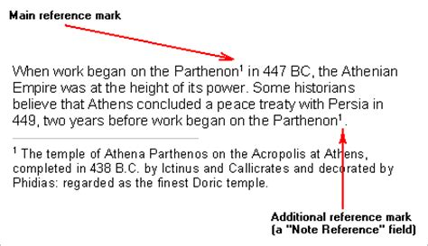 Footnote Format Same As Above | atlantis word processor help footnotes and endnotes