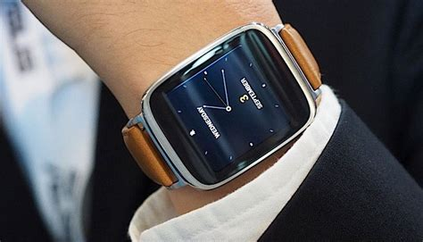 Smartwatch Zenfone Asus Zenfone 2 Smartwatch Price Features Revealed At Ifa