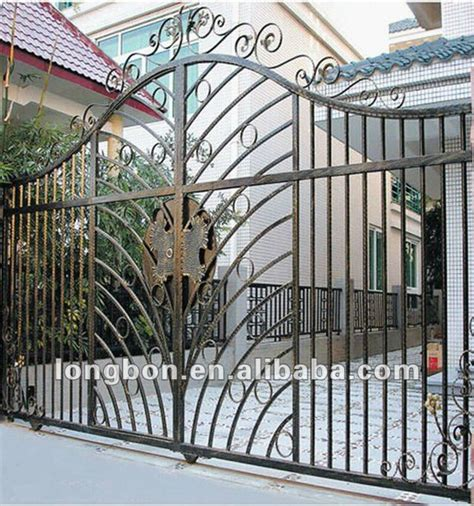 2015 top selling wrought iron gate grill designs for home