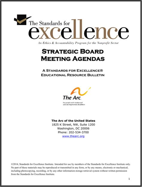 strategy session template strategy meeting agenda template for free