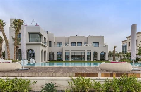 Luxury Townhouse Floor Plans by 48 Million 30 000 Square Foot Mega Mansion In Dubai