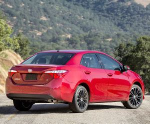 How Much Does A Toyota Corolla Weigh 2013 Toyota Corolla S Cvt Specifications Information
