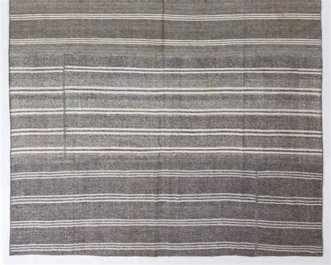 large cotton rug large cotton and goat wool kilim flat woven rug for sale at 1stdibs