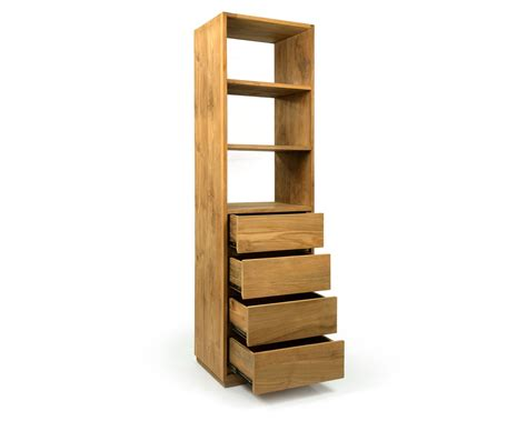 Wood Corner Bookcase Wood Corner Slim Bookcase Doherty House Trends Slim Bookcase