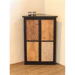 meuble d angle design bois et m 233 tal meubles et