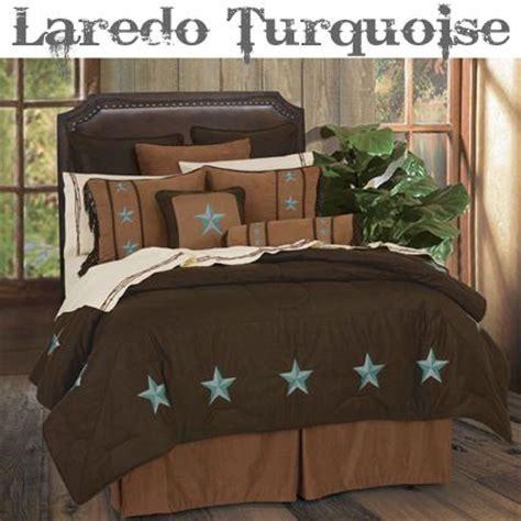 laredo comforter set laredo turquoise star western bedding western bedding
