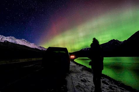 where do the northern lights come from seeing the northern lights aurora borealis in banff
