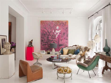 modern home decor blog ecl 233 ctico bohemio y casual un piso en madrid ministry