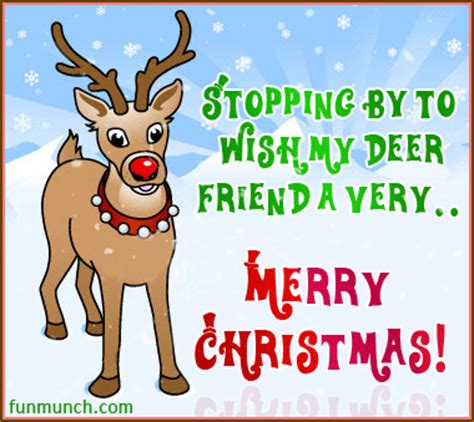 stopping     deer friend   merry christmas pictures   images