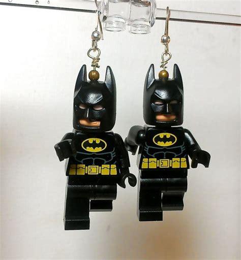 Necklace Lego Batman lego batman earrings batman lego batman