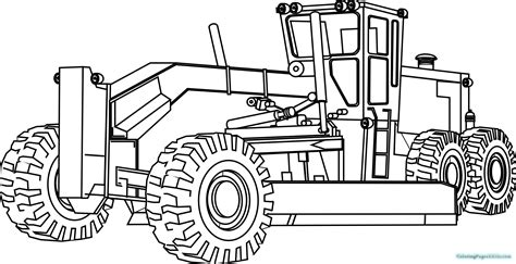 Coloring Page Tractor by Tractor A Coloring Pages Free Printable Coloring Pages