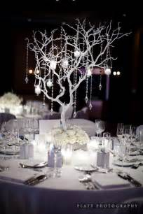 white tree branch centerpieces