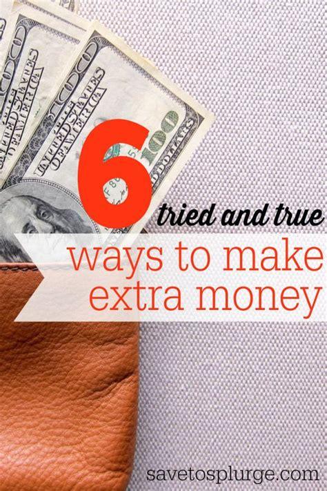 Easy Ways To Make Extra Money Online - 100 best images about make extra money on pinterest work