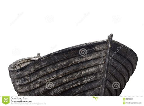side view of an old fishing wood boat stock photo image - Side Of A Fishing Boat