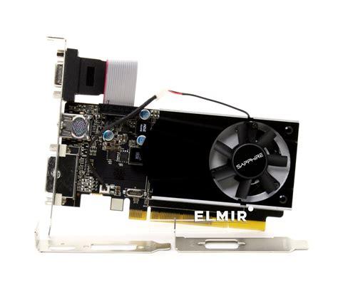 Sapphire Ati Radeon Vga R7 240 2g Ddr3 With Boost видеокарта pci e 1024mb ati radeon r7 240 ddr3 sapphire 11216 13 20g купить недорого обзор