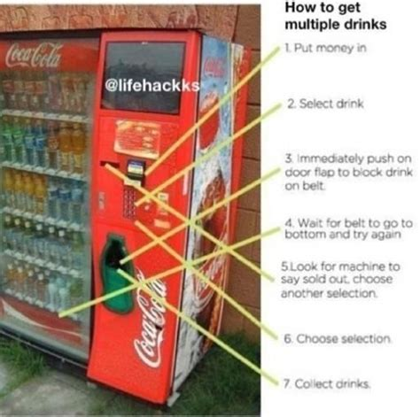 hack ideas code how to get drinks drinks diy hacks hacks easy diy diy ideas money saving hacks