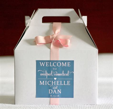 wedding box stickers wedding welcome box bag sticker location hearts