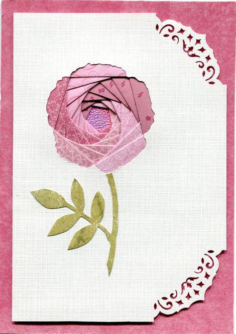 folded flower card template 25 best ideas about iris folding on iris