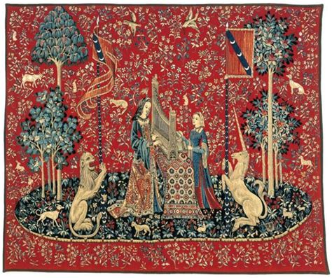 Tapisserie Dame à La Licorne by La S 233 Rie De Tapisserie La Dame 224 La Licorne Gobelins Tapis