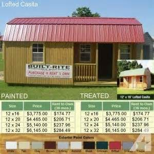 Images of Rent To Own Storage Sheds