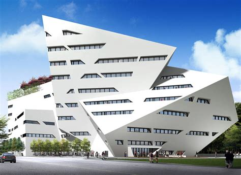 creative architecture the run run shaw creative media centre by daniel libeskind