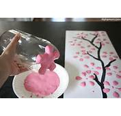 Cherry Blossom Art From A Recycled Soda Bottle  Alpha Mom