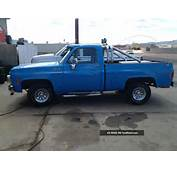 1980 Chevy Shortbed Pickup C/K 1500 Photo