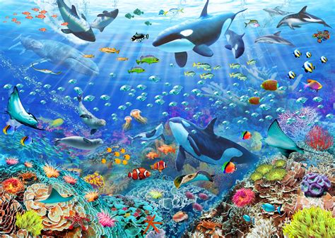 free wallpaper underwater scene underwater scene wallpaper wallsauce usa