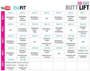Unique workouts from 30 day butt lift a sexy new 30 day workout system