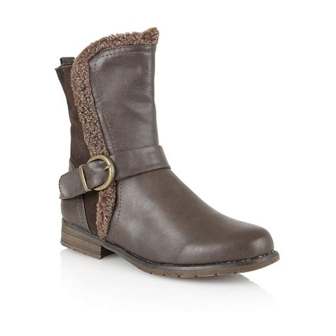 lotus boots uk brown rink ankle boots lotus boots from lotus shoes uk