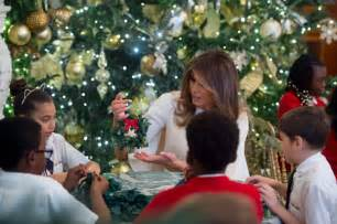 decorations in the house she s like an melania stuns in for