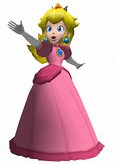 Princess Peach 3D Model