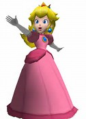 Princess Peach 3D Model