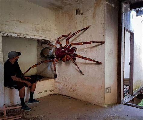 street artist portoghese crea graffiti  davvero
