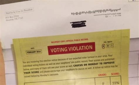 Lc Voting 01 Freesul why ted s voter shaming mailer may violated