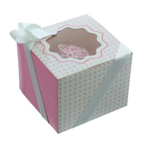 The Cake Decorating Company by The Cake Decorating Co Single Luxury Satin Cupcake Box