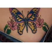 Tattoos Design Typically Nice Lower Back Butterfly Designs Art