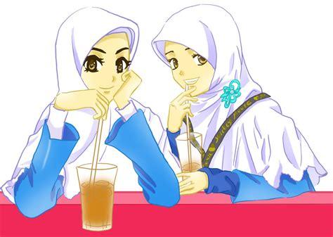 sholiha  mrimsu koleksi kartun hijab cantik