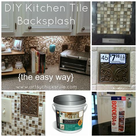 Diy Kitchen Backsplash Tile by Kitchen Tile Backsplash Do It Yourself