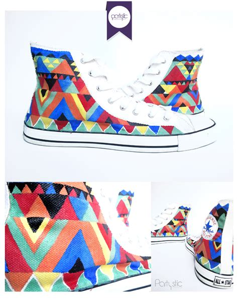 Sepatu Converse Lukis jasa lukis sepatu partystic