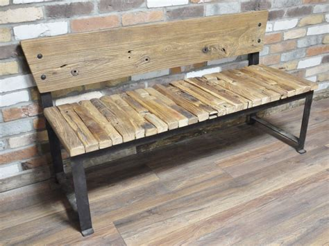 reclaimed benches reclaimed wood bench cambrewood