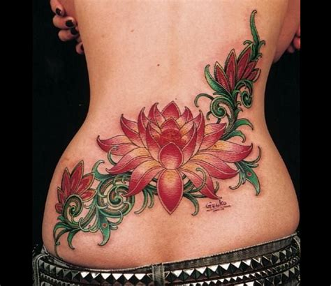 lower back name tattoo designs 15 beautiful lower back designs and names