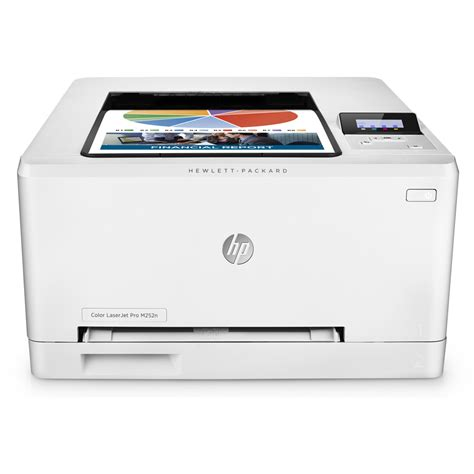 laser printer color hp color laserjet pro m252n a4 colour laser printer b4a21a