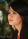 Foto Dinda Hauw - Artis Cantik Pendatang Baru Indonesia | Saraung Blue ...