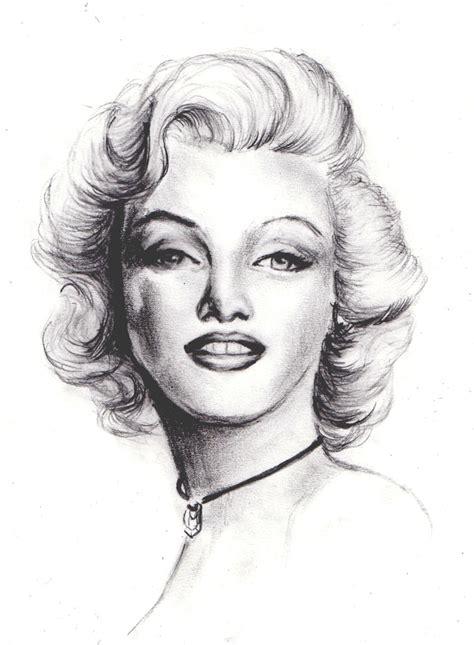 marilyn monroe zeichnung portrait marilyn monroe portrait zeichnung marilyn